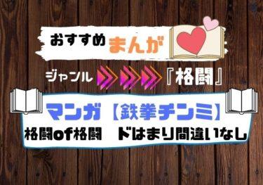 【おすすめ】格闘マンガ「鉄拳チンミ」ドはまり間違いなし!
